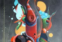 Philip Bosmans / Philip Bosmans is a Belgian pop surrealism artist, currently living in Hasselt (Limburg)