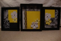 Black, White, Yellow Daisies / Stuff for bedroom...things I can make or buy. / by Jill Bradford