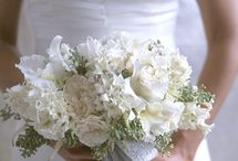 White bouquets / by Cheryl Stommel