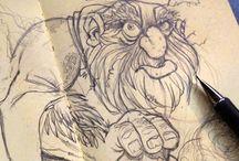 Sketches / #keithfrawley #sketches #pencils #dailysketch #sketchaday