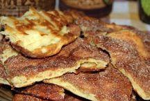 lepényszerüségek / édes és /vagy sós tészták