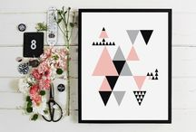 Tableaux, cadres et affiches // Canvas, frames and posters