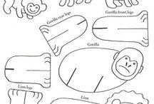zwierzęta z papieru
