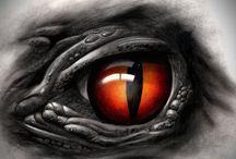 Olho de réptil