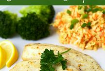 Something's Fishy / Fish and seafood recipes  / by Carrie Iafrate - Lamothe