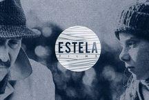 Estela Films / Imágenes corporativas, diseño de marca. Corporate design.