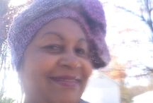 Hair covering / Scarf / by Sandra Henderson
