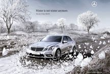winter creative ❄ / The weather may be cold, but the creative work is HOT ☼ / by MOB media