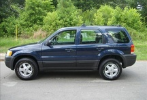 Blue Ford Escape For Sale SUV Truck Car