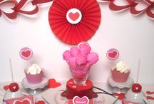 Sweet table  { st valentin}