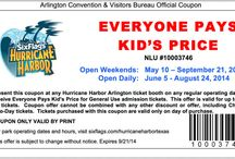 Six Flags Coupons / Six Flags Printable Coupons and Online Coupon Code Discounts for Six Flags Over Texas, Fiesta Texas, Hurricane Harbor, Six Flags Magic Mountain, Great Escape, Six Flags New England, Six Flags Great America, Six Flags Discovery Kingdom and more! / by Cha Ching Queen