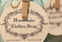 Handmade laundry soap