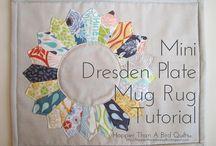 There's a Mug on My Rug! / Mug rugs