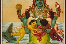 Matsya & Yemaya / Vishnu Avatar