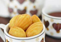 bolinhos assados e fritos