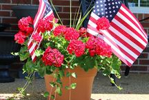 Red, White, and Blue--Memorial Day, July 4th, Labor Day