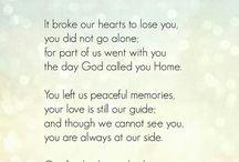 Prayer for loved ones gone