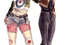 Tank Girl inspiration / by Angelique