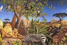 Animal savannah