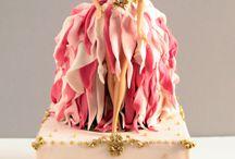 Creative BARBIE DOLL cakes