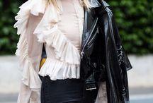 Victorian blouse - Blusas victorianas