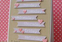 stampin up cards love