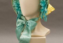1850s Headwear