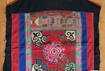 Hmong baby carriers