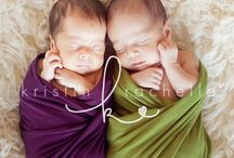 Twin newborn photo ideas