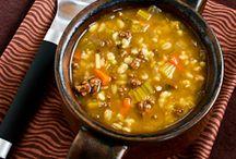 soups / by Lynda Chittenden Weathersbee