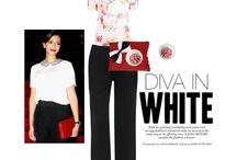 diva in white