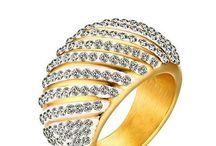 Ein Prachtstück Edelstahl Ring für Damen Zirkonia AAA Gr 59 (18,8 mm Ø) G 13,5 g 34,90 Euro