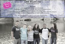 Contests - WIN STUFF / This is where we'll post fun contests for you to win cool One Mission swag.