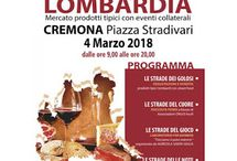 Le strade del gusto della Lombardia: mercato prodotti tipici 4 marzo Cremona