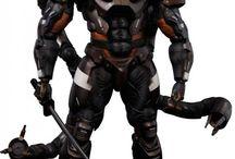 Armors Figure to Draw