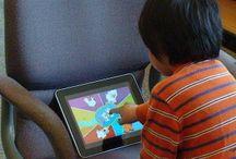 Les kids et leur tablette