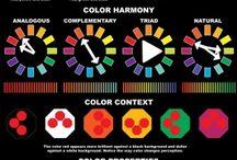 Teoria farieb, malba, svetlo a tien