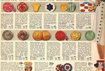 Button Advertisements / Vintage Button Advertisements