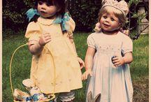 Masterpiece Dolls Happy Easter 2015
