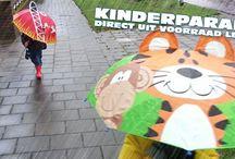 Kinderparaplu's / Vrolijke paraplu's voor de kleintjes