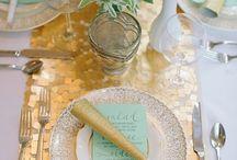 Table decor colours