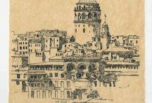 Mimari Eskizler