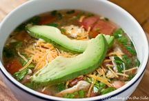 Soups On / All types of soup to warm your tummy and your soul.