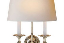 LIGHTING / Chandeliers, sconces, lamps, outdoor lighting, etc.