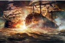 Fantasy ships / by La brújula de historias