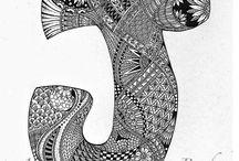 Tangles & Doodle-le-doos