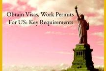 Obtain Visas, Work Permits