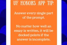 Honors Application Tips / Tips from Honors admission application reviewers