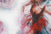 Peintures :Evelyn Hamilton / Magnifique