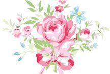 Greengate florals